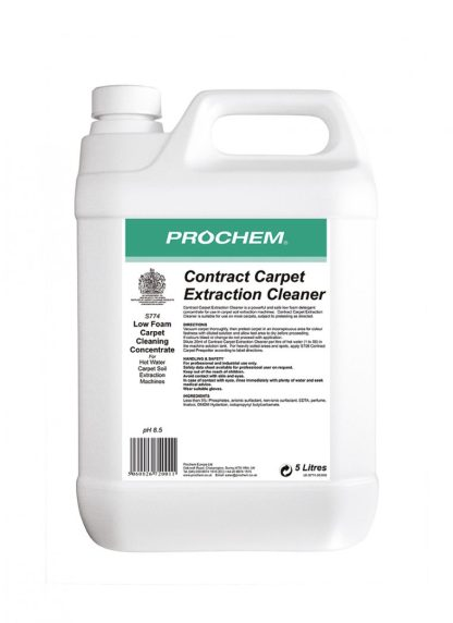 Contract Carpet Extraction Cleaner 5L