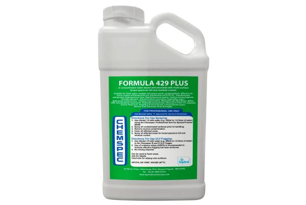 Chemspec Formula 429 Plus – Liquid For Spraying Fogger Machine – 5 Litres