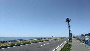 いちご海岸通りの風景