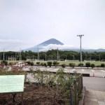 鳴沢-道の駅における富士山