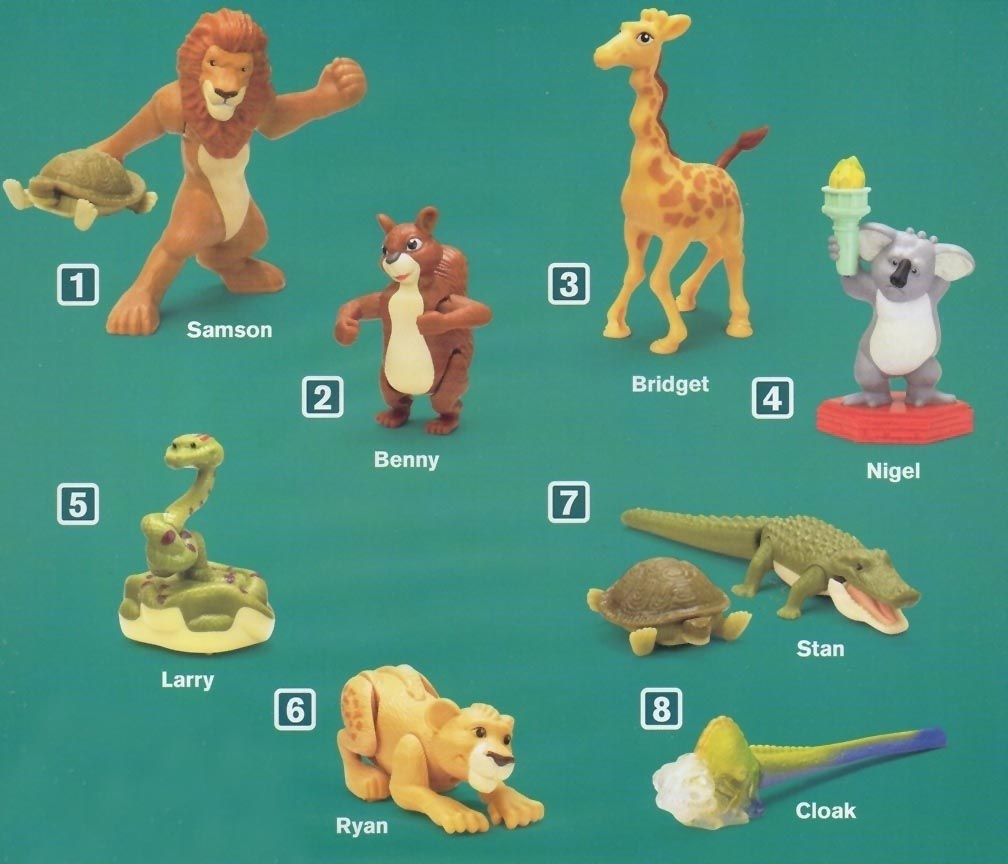 The Wild Toys : Mcdonald s happy meal toys the wild kids time