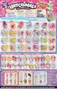 Hatchimals Colleggtibles Season 3 Checklist Llist