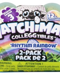 Hatchimals CollEGGtibles Season 3 Rhythm Rainbow - 2 Pack Egg Carton