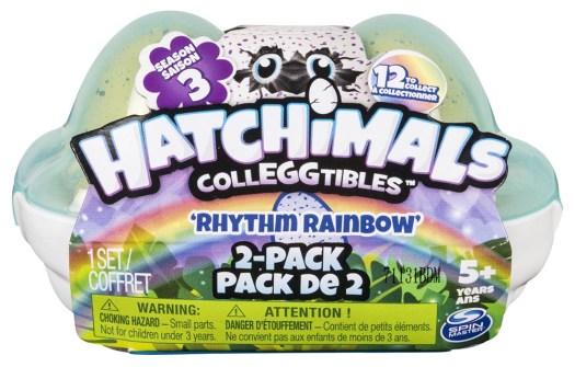 Hatchimals CollEGGtibles Season 3 Rhythm Rainbow - 2 Pack Egg Carton