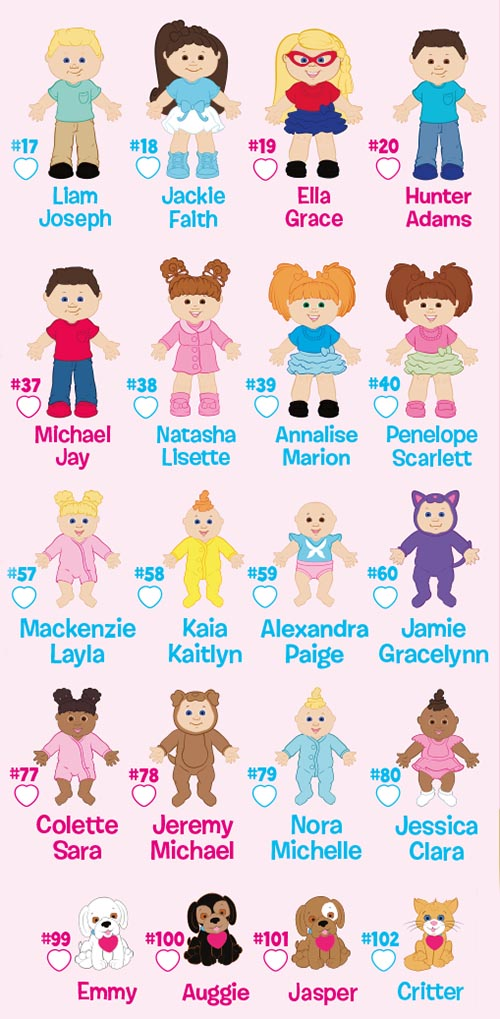 cabbage-patch-kids-little-sprouts-blind-packs-checklist-common-list-5