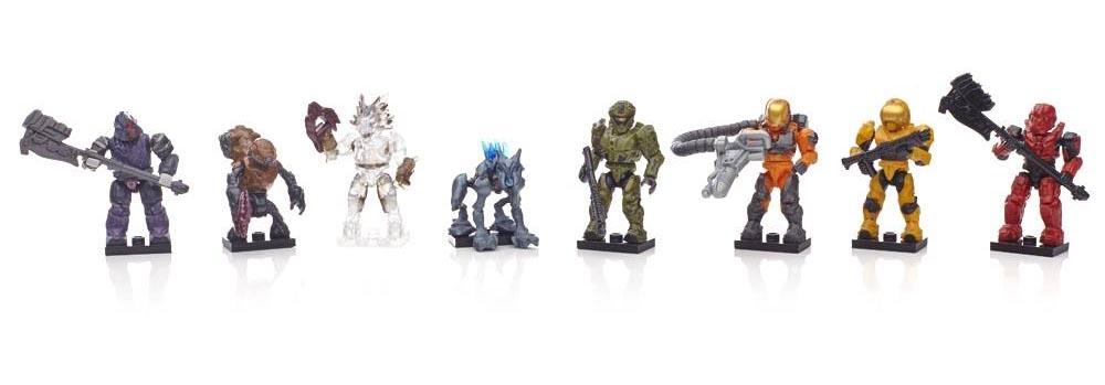 Minifigure Pack *NEW* 96978 {select your} Mega Bloks HALO Series 4