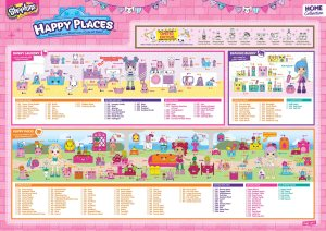 Shopkins Happy Places Season 2 Checklist 1 of 2
