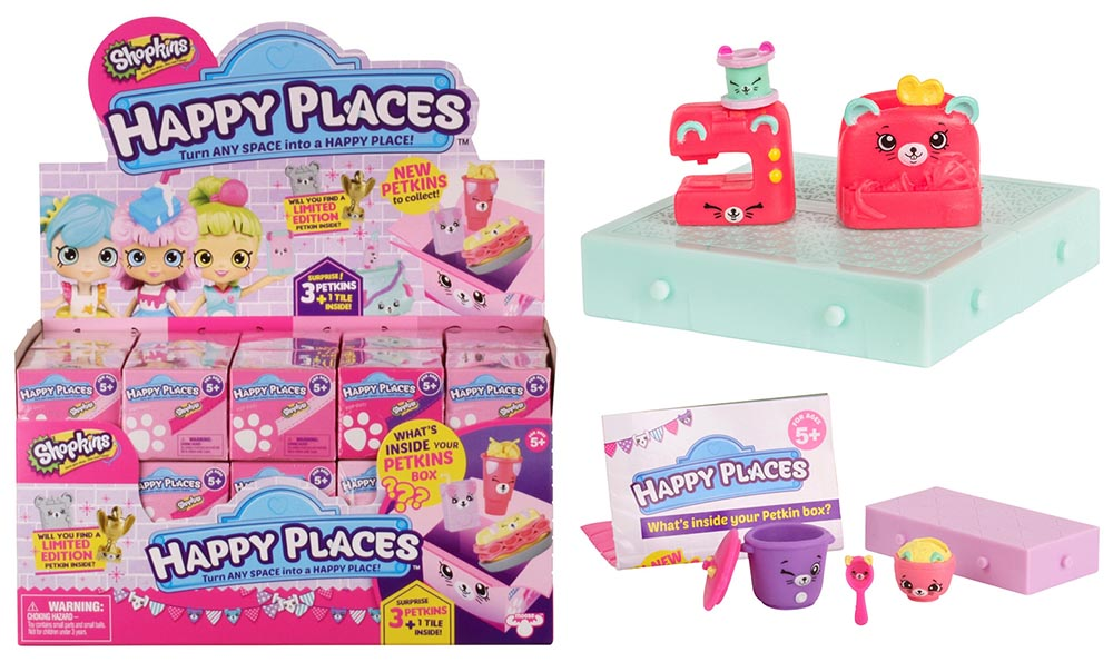 Shopkins Happy Places Season 3 Characters U2013 List / Checklist