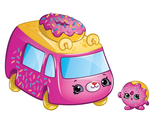 Shopkins Season 1 - Cutie Cars - Donut Express Fun Food Van