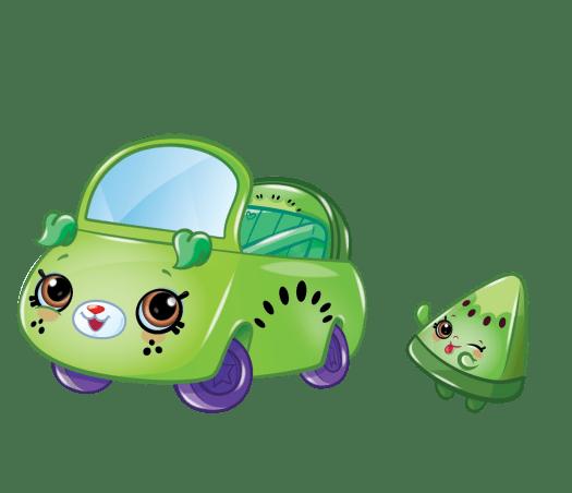 Shopkins Season 1 - Cutie Cars - Kiwi Cutie Convertible Cutie