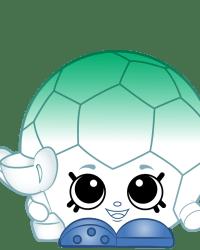 Silvio Soccer Ball #8-218 - Shopkins Season 8 - Brazilian Break Team