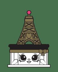 Ella Tower Cake #8-012 - Shopkins Season 8 - French Adventure Team