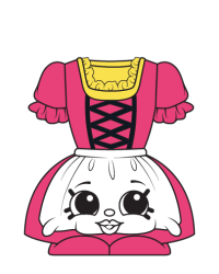 Tess Von Dress #8-062 - Shopkins Season 8 – German Jet Set Team