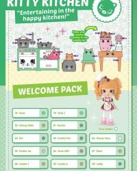 Shopkins Happy Places Season 2 - Kitty Kitchen List / Checklist