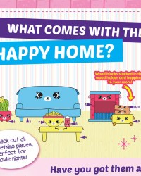 Shopkins Happy Places Season 2 - The Happy Home List / Checklist