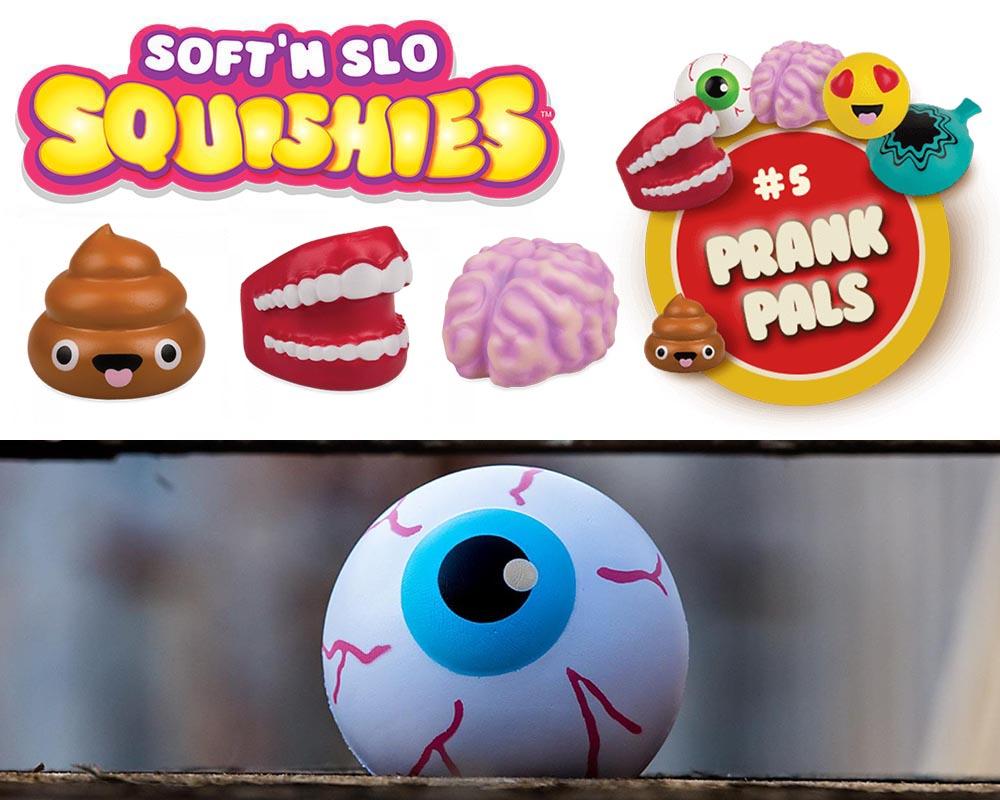Soft'n Slo Squishies Series 5 Prank Pals – List Checklist