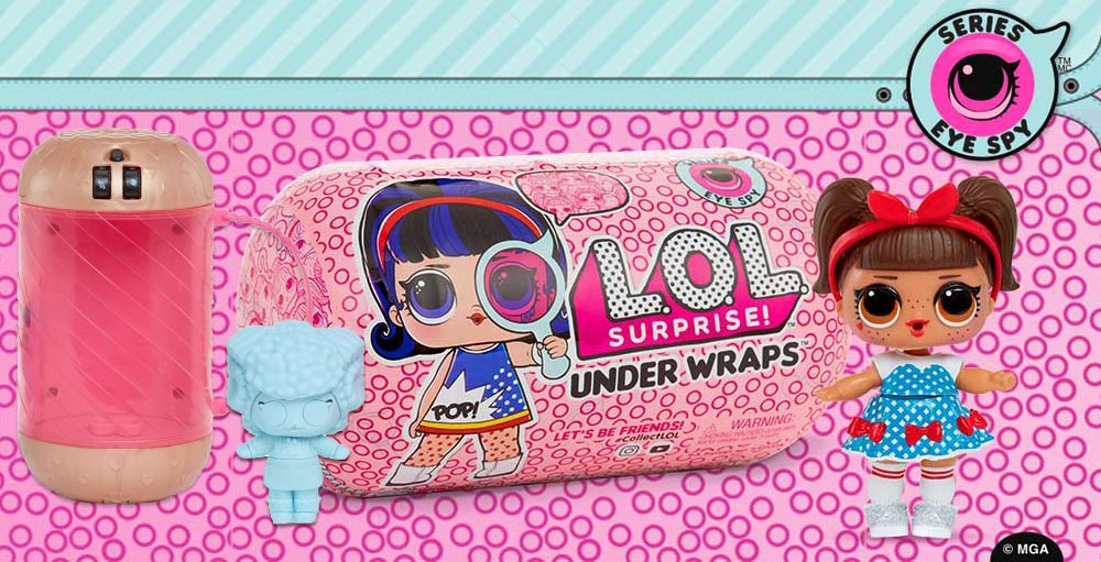 L.O.L. Surprise Series 4 Under Wraps – List of Characters ... 5bdbf42adc66