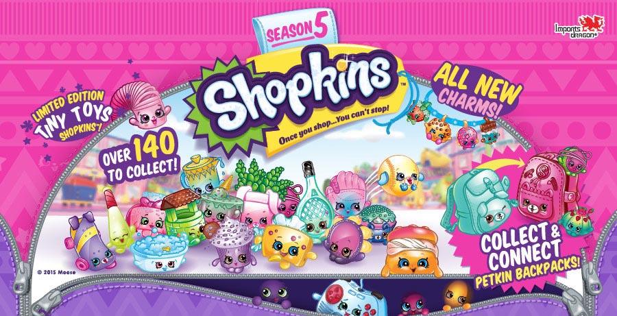 Shopkins Season 5 Bakery List Of Characters Checklist