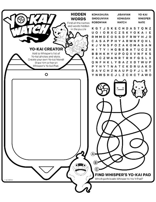 Mcdonalds Happy Meal Coloring Page And Activities Sheet Yo