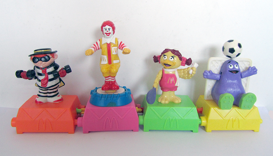 Mcdonald S Happy Meal Toys 1993 Twisting Sports Kids Time