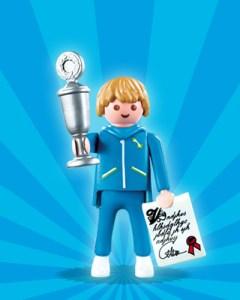 Playmobil Figures Series 1 Boys - Trophy Winner