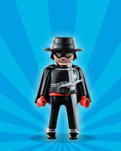 Playmobil Figures Series 1 Boys - Zorro