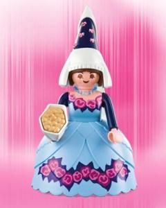 Playmobil Figures Series 1 Girls - Princess Bird Feeder
