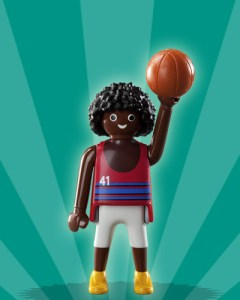 Playmobil Figures Series 2 Boys - Basketball Player