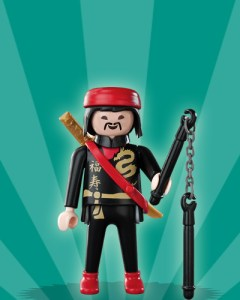 Playmobil Figures Series 2 Boys - Kung-Fu Warrior