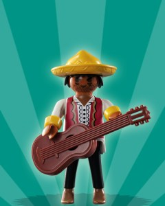 Playmobil Figures Series 2 Boys - Mariachi Musician