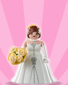 Playmobil Figures Series 3 Girls - Bride