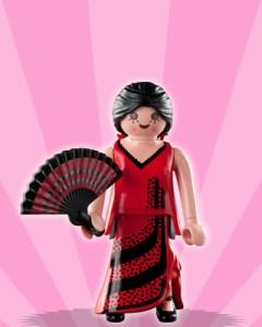 Playmobil Figures Series 3 Girls - Flamenco Dancer