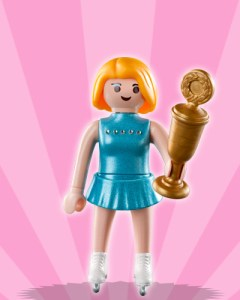 Playmobil Figures Series 3 Girls - Ice Skater