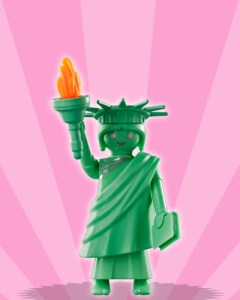 Playmobil Figures Series 3 Girls - Statue of Liberty