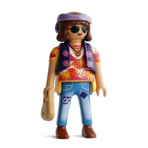 Playmobil Figures Series 15 Boys - Hippie