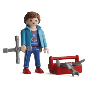 Playmobil Figures Series 15 Boys - Mechanic