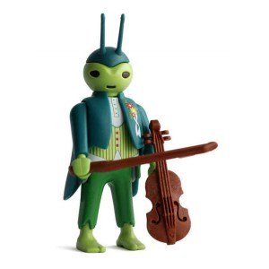 Playmobil Figures Series 15 Boys - Violinist Cricket