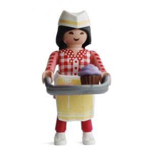 Playmobil Figures Series 15 Girls - Baker