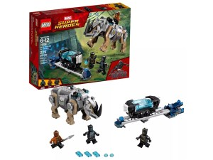 LEGO Super Heroes Marvel Black Panther Rhino Face-Off by the Mine 76099
