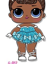 L.O.L Surprise! Glitter Series Doll - Miss Baby G-012