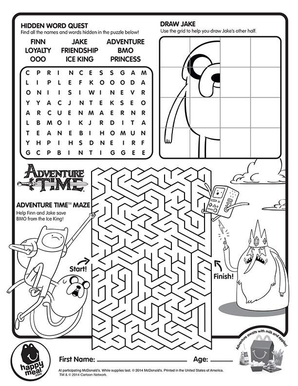 adventure-time-maze-mcdonalds-happy-meal-coloring-activities-sheet