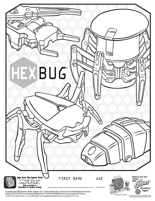 McDonald's Happy Meal Toys – October 2014 – Hexbug