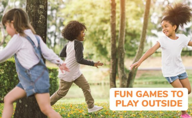 35 Fun Outdoor Games For Kids Of All Ages Outdoor Games