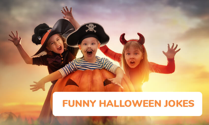 They have gone over so well with m and … 25 Funny Halloween Jokes For Kids Kid Activities