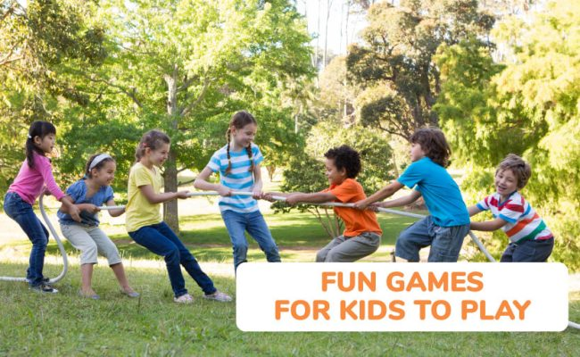 50 Fun Games To Play With Friends Kid Activities