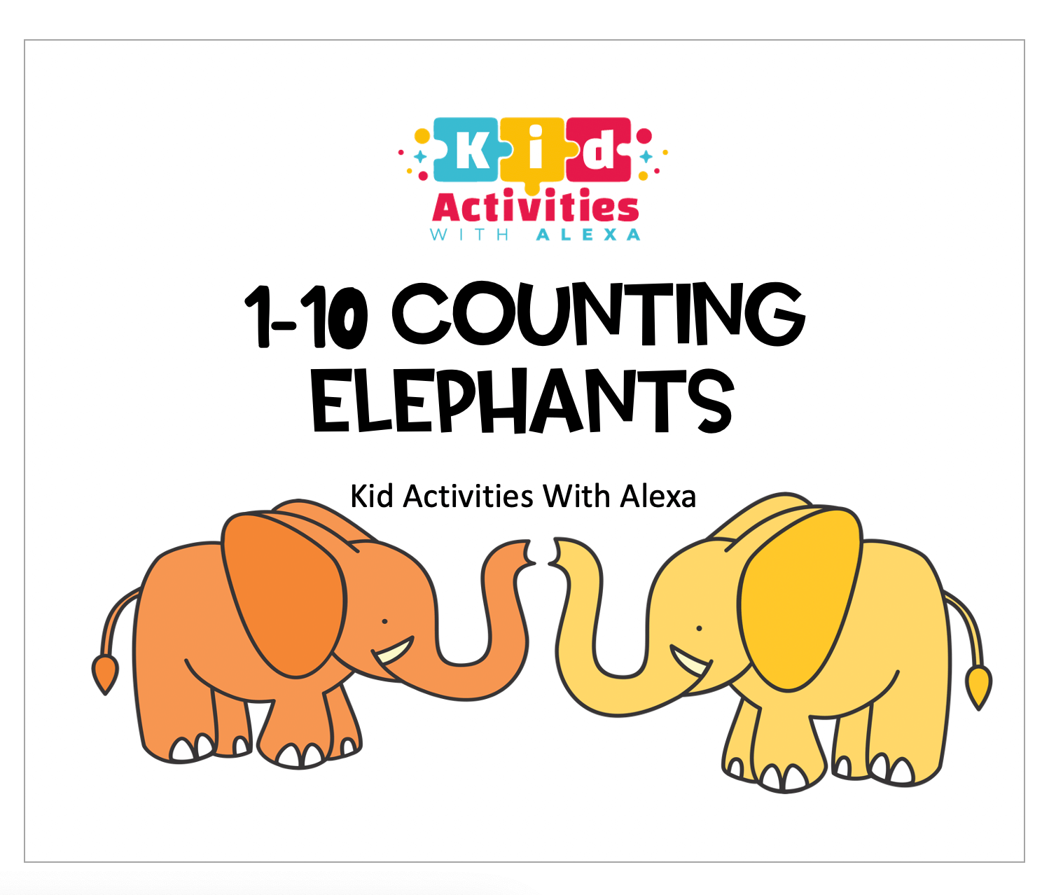 Counting Elephants 1 10