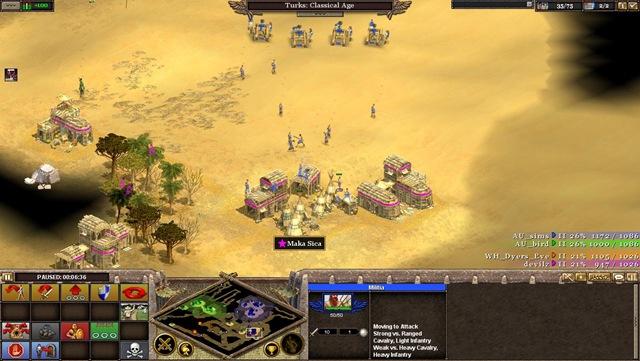 Rise of Nations: Militia Rush