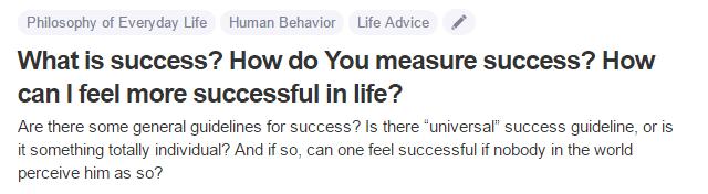 measure-of-success