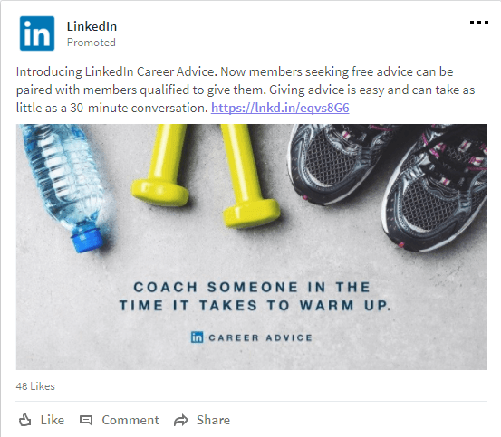 LinkedIn Career Advice