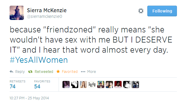 Twitter, Friendzoned